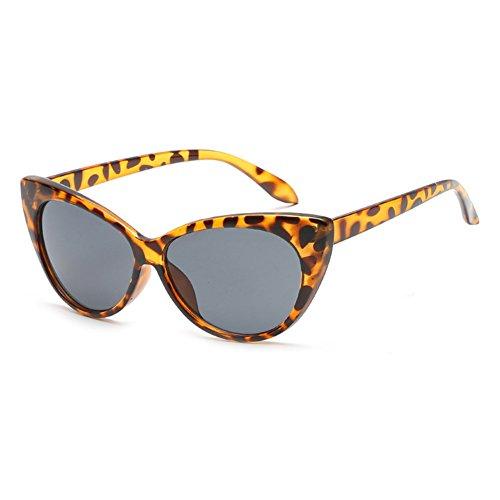 Mxssi Retro Vintage Style Cateye Sonnenbrille 50er/60er Jahre Party Sonnenbrille Damen Herren C1