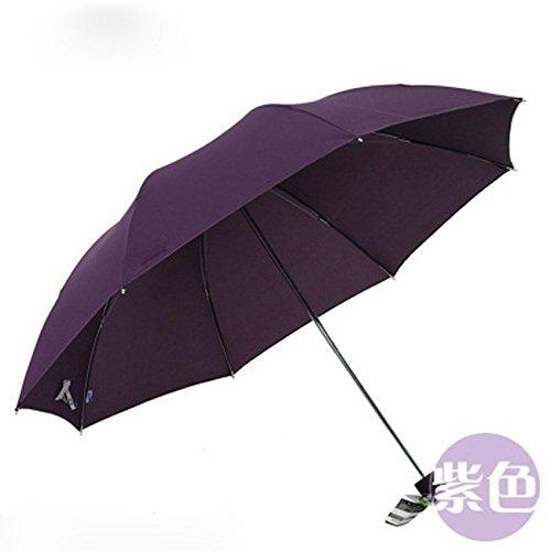 KHSKX Business 30 percento ombrello in acciaio uomini