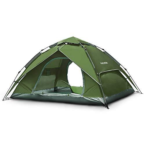 NACATIN Tente Instantanée,Pop Up,Dôme Tente Étanche,Automatique,Ouverture pour 3/4...