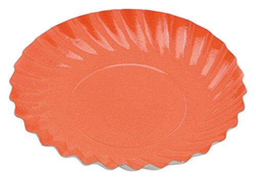 Garcia de pou 100 unité Mini Plaque en boîte, 5.5 cm, Carton, Orange, 30 x 30 x 30 cm