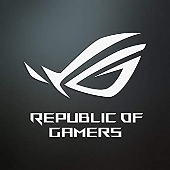 Asus ROG Logo Sticker/Aufkleber/PC/Casemod/Gehäuse/Gaming