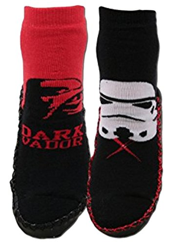 Chaussons chaussettes Starwars antidérapantes lot de 2 (31/35) Star Wars