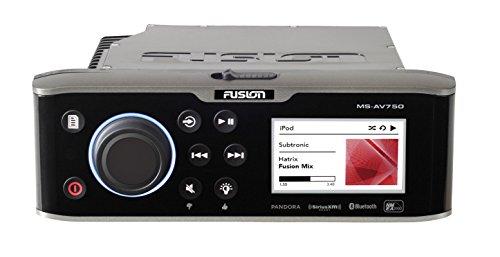 Preisvergleich Produktbild Fusion av750 Marine Entertainment System mit DVD / CD-Player – Schwarz