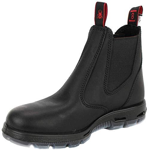 Redback USBBK Safety Work Boots aus Australien - mit Stahlkappe - Unisex - Black / Schwarz