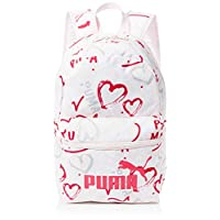PUMA Unisex-Child Small Backpack, Pink - 075488