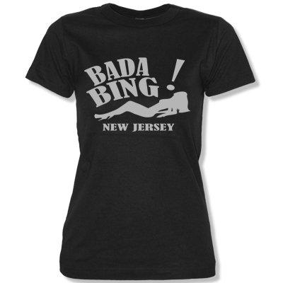 bada-bing-new-jersey-women-t-shirt-black-silver-size-s