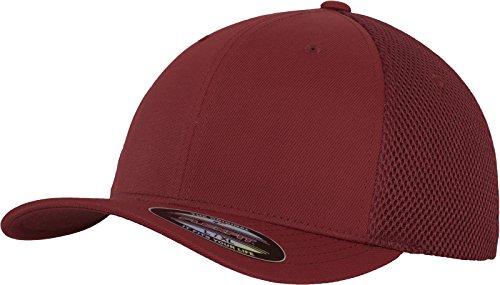 Imagen de flexfit mütze tactel mesh   de ciclismo para hombre, color rojo, talla l/xl