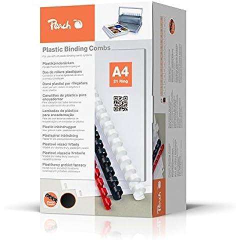 Dorsi Plastici Peach 14mm, 125 fogli A4,