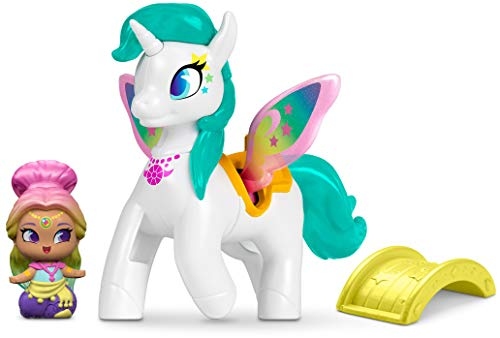Shimmer And Shine Teenie Genies Rainbow Genie And Zahracorn Englisch Version [FPV97] (Direct Tv Genie)
