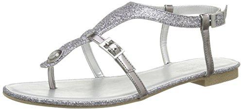 Jb Martin2Gaelia E16 - Sandali da Donna, colore argento (T Paillete Acier/T Spec Toundr), taglia 39