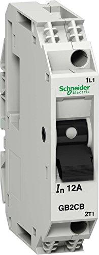 Schneider Electric GB2CB07 Tesys Gb2, Disyuntor Magnetotérmico, 1P, 2 A, Id = 26 A