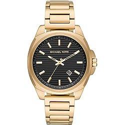 Michael Kors Reloj Analógico para Hombre de Cuarzo con Correa en Acero Inoxidable MK8658
