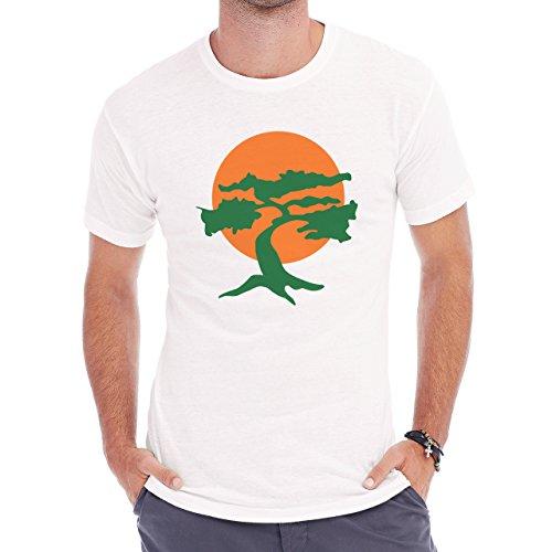 Miyagi Dojo Karate Kid Edit Herren T-Shirt Weiß