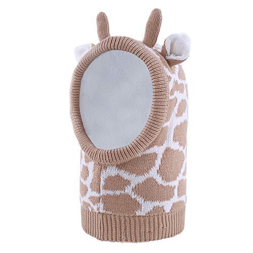 Winter Baby Jungen Mädchen Aniamls Ohren Mit Kapuze Hut Kinder Säugling Giraffe Muster Warme Fleece Futter - Niedliche Baby Kostüm Zum Verkauf