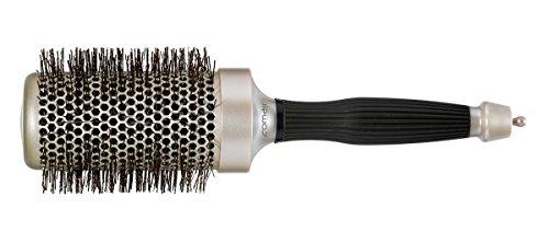Professionale con manico della spazzola rotonda champagne 53/75mm<br/>professionale spazzola rotonda con ceramica & tourmaline ioni di litio 53/75mm<br/>