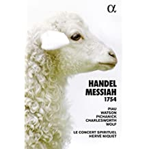 Le Messie (Messiah) 1754, HWV 56