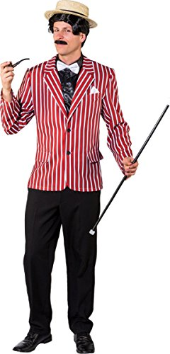 Orlob Herren Kostüm 20er Jahre Gentleman Jacke Karneval Fasching ()
