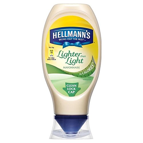 Hellmann's Mayonnaise Squeezy, Lighter Than Light, 430ml
