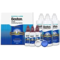 Bausch & Lomb Boston Advance Multipack Limpiador de lentes, 3x 120ml & 3x 30ml