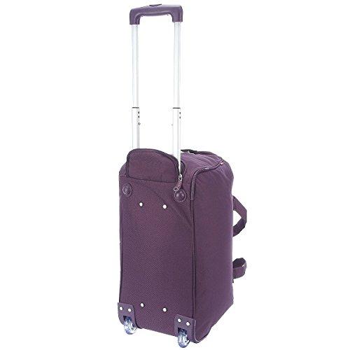 Gabol Daisy Roller Borsa Da Viaggio 54cm, ciruela (viola) - 112114024 azul