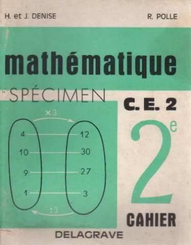 Mathematiques deuxième cahier CE2