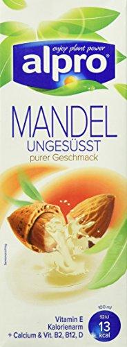 Alpro Mandeldrink ungesüßt, 8er Pack (8 x 1 l)