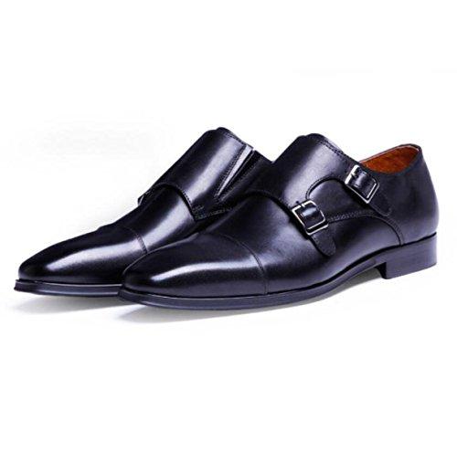 Scarpe Classiche Classiche Classiche Da Uomo Oxford In Pizzo Con Scarpe Da Uomo Casual Black
