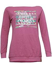 ABK Miaoli Tee Camiseta de Manga Larga, Mujer, Morado (Old Violet), L