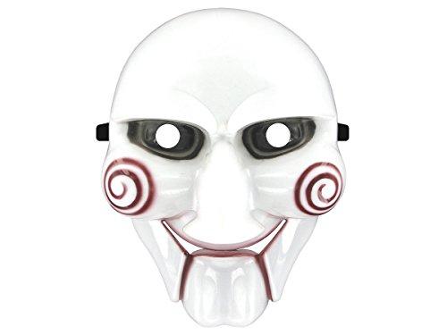 Totenkopfmaske Vendetta Maske Karneval Saw Fasching Maske Blue Mask Kostüme Geist, wählen:Mas-04 Saw (Halloween Ma)