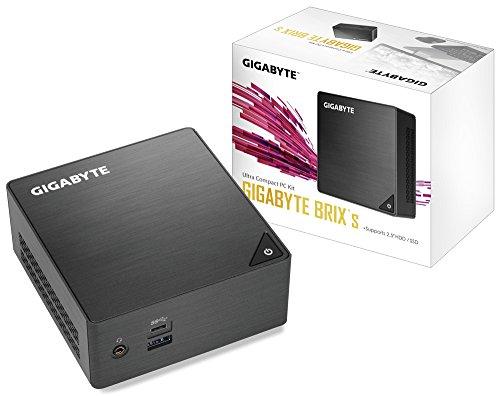Gigabyte GB-BLCE-4105 Barebone PC/Poste de Travail BGA 1090 1,50 GHz J4105 UCFF Noir - Barebones PC/Poste de Travail (BGA 1090, Intel® Celeron®, 1,50 GHz, J4105, 14 nm, 2,50 GHz) par  Gigabyte