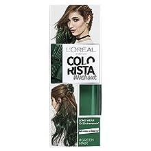 L'Oreal Paris Colorista Washout verde semi-permanente tintura per capelli 80ml