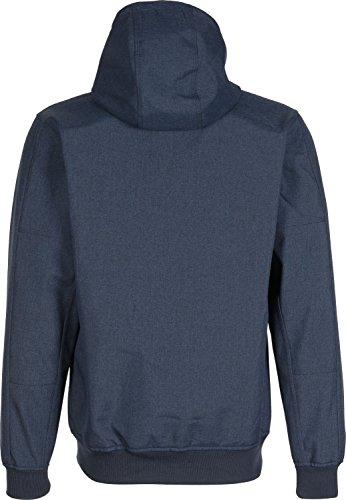 Iriedaily Sober Flag veste d'hiver bleu chiné