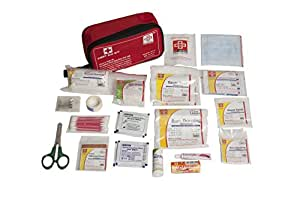 St Johns First Aid Travel First Aid Kit Medium Nylon Pouch -63 Components - Sjf T3