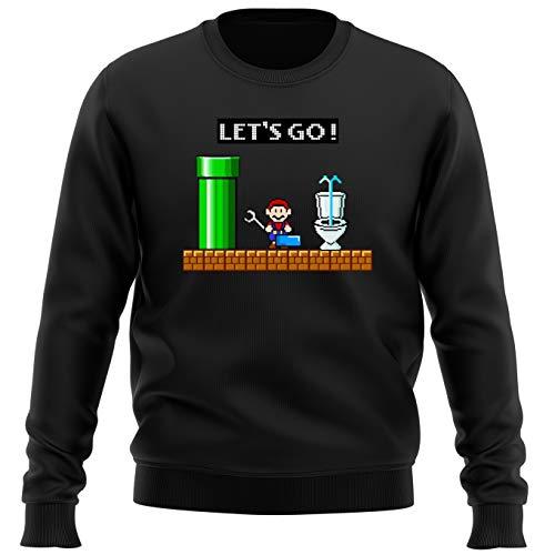Sudadera Videojuego - Parodia de Super Mario Bros (269)