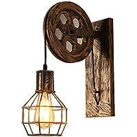 Amazon.es: lámparas rusticas de mesa: Iluminación