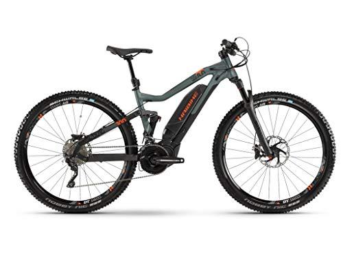 Preisvergleich Produktbild Haibike Sduro FullNine 8.0 29'' Pedelec E-Bike MTB schwarz / grün / orange 2019: Größe: L