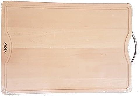 Luxe Grande taille à découper en bois massif, 50cm leger