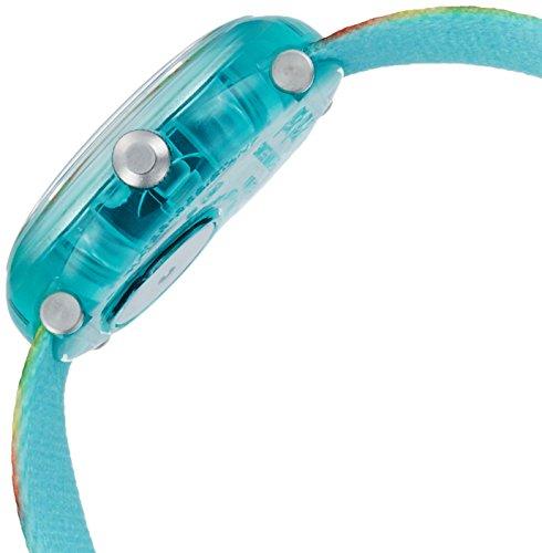Flik Flak Mädchen Analog Quarz Uhr mit Stoff Armband FPNP015 - 3