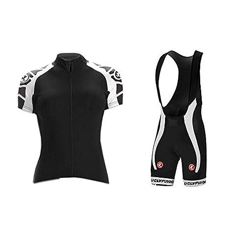 UGLYFROG #06 Neue kurze Ärmel Sommer Fahrradtrikot Langarm Shirt+Trägerhosen Anzüge