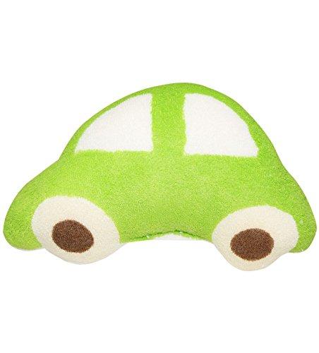 Wonderkids Green Car Shape Baby Bath Sponge