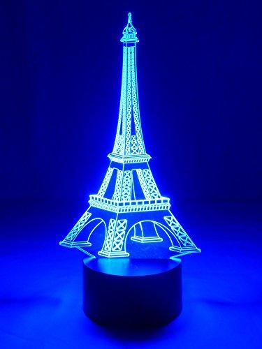 Originale lampe LED 3D Tour Eiffel