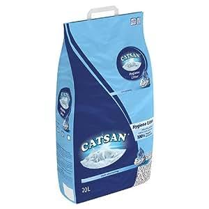 Catsan Hygiene  Litter pour Chat 20 L