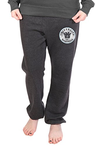 University of Whatever - Pantalon de sport  - Femme - Varsity Carbone