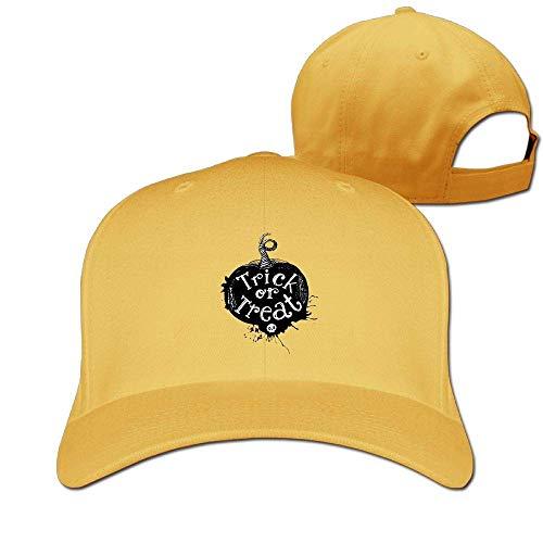 Classic Cotton Hat Adjustable Plain Cap, Pumpkin Plain Baseball Cap Adjustable Size Curved Visor Hat 409