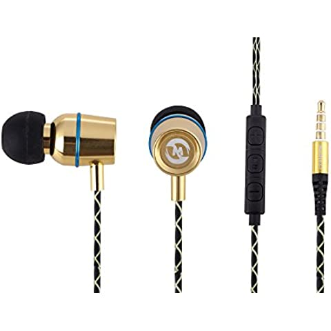 mosidun Z3 Auriculares Super Headset Wired selife en auriculares para Wileyfox Swift, Huawei Mate 8, HTC One A9, Motorola Moto X Force, Microsoft Lumia 950 X L, Moto G 3 nd, LG Nexus 5 X, iPhone 6S con la