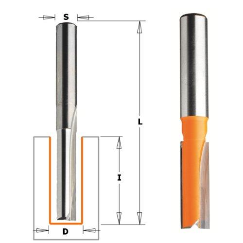 Cmt orange Tools 912.721.11-Erdbeere gerade HM S 12D 22x 38