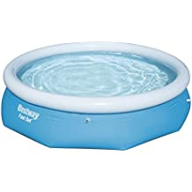 Bestway 57266 - Piscina hinchable Fast Set con anillo hinchable, 305 x 76 cm,