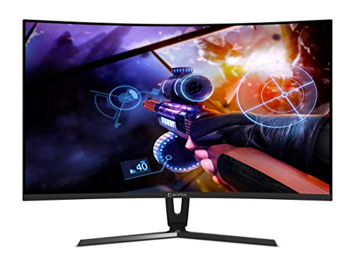 3. Acer 24-inch (60.96 cm) Aopen Curve Gaming Monitor - 24HC1Q (Black)