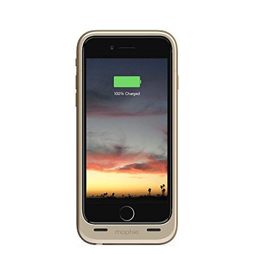 Mophie 3045_JPA-IP6-GLD Juice Pack Air harte Schutzhülle mit 2750mAh Akku für Apple iPhone 6/6s gold Iphone 6-akku-pack Gold