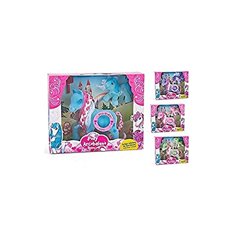 globo GT36694 globo gt36694 ponies flocked c/baby brush with ass-to